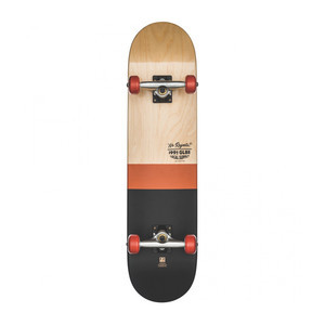 "Globe Half Dip 7.75"" Complete Skateboard - Natural/Rust"