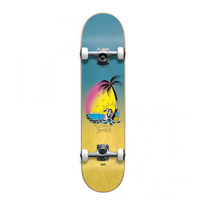 "Globe Victims of Paradise 6.5"" Youth Complete Skateboard - Blue Fade Dye"