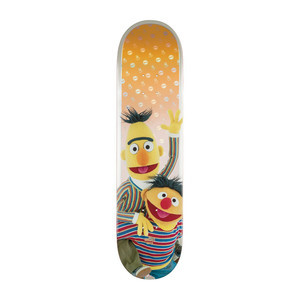 """Globe x Sesame Street G2 8.0"""" Skateboard Deck - Bert & Ernie"""