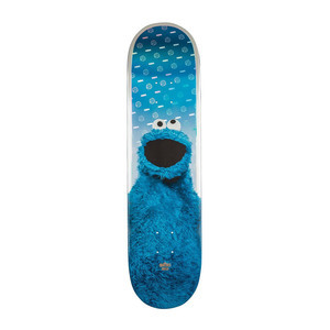"Globe x Sesame Street G2 8.125"" Skateboard Deck - Cookie Monster"