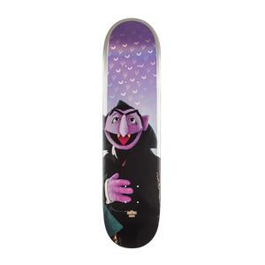 """Globe x Sesame Street G2 7.75"""" Skateboard Deck - Count Von Count"""
