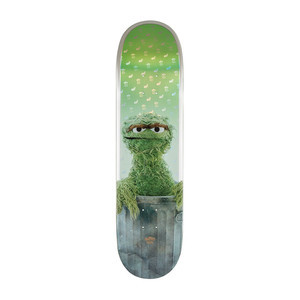 "Globe x Sesame Street G2 8.25"" Skateboard Deck - Oscar the Grouch"