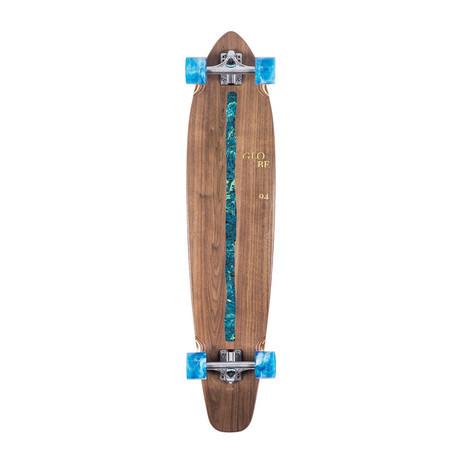 """Globe Byron Bay 43"""" Cruiser Skateboard - Walnut / River"""