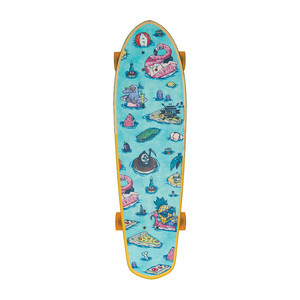 "Globe Big Blazer 32"" Cruiser Skateboard - Splash House"