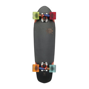"Globe Blazer 26"" Cruiser Skateboard - Black/Colour Bomb"