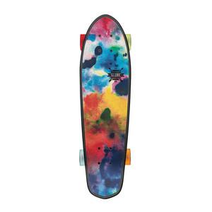 "Globe Blazer 26"" Cruiser Skateboard - Black/Colour Bomb"