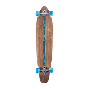"Globe Byron Bay 43"" Cruiser Skateboard - Walnut / River"