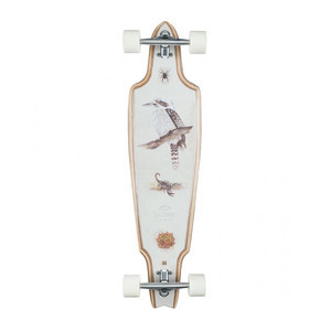 "Globe Prowler 38.5"" Longboard - Dark Maple/Outback"