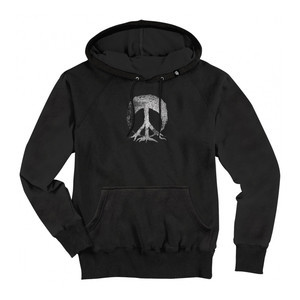 Gnarly Vintage Tree Hoodie - Black
