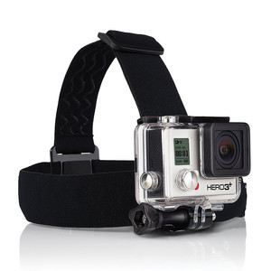 GoPro Head Strap and Quickclip 3+