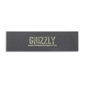 Grizzly Camo Stamp Skateboard Griptape