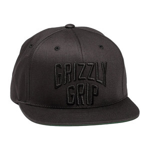 Grizzly Big City Snapback - Black