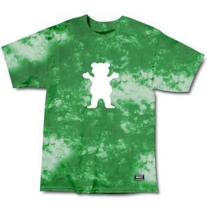 Grizzly Glacier Tie-Dye T-Shirt - Green