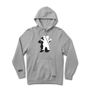 Grizzly Shade OG Bear Hoodie — Heather