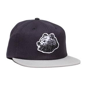 Grizzly Keystone Strapback Hat - Black
