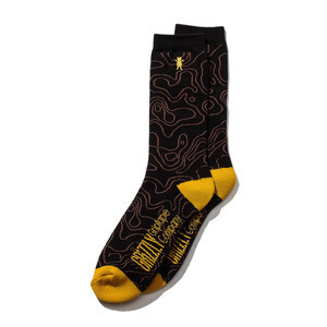 Grizzly National Park Sock - Black