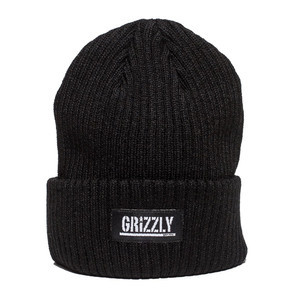 Grizzly Stamp Beanie - Black