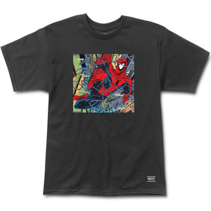Grizzly x Marvel Spider-Man Aerial T-Shirt - Black