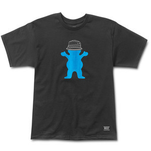 Grizzly Boo Johnson Pro T-Shirt — Black