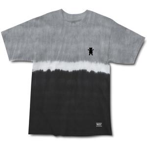 Grizzly Tie-Dye Stripe Mini Bear T-Shirt — Black