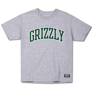 Grizzly Top Team Youth T-Shirt - Heather