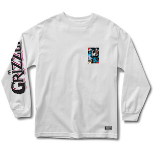 Grizzly x Marvel Venom Long Sleeve T-Shirt - White