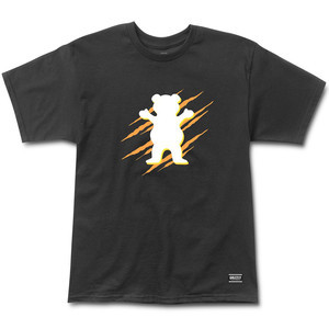 Grizzly OG Bear Wound T-Shirt - Black