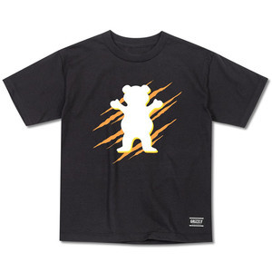 Grizzly OG Wound Youth T-Shirt - Black