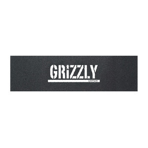 Grizzly White Stamp Skateboard Griptape