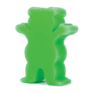Grizzly Grease Skateboard Wax — Green