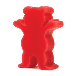 Grizzly Grease Skateboard Wax — Red