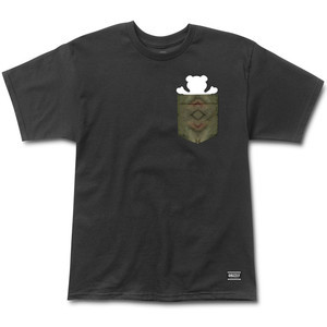 Grizzly Forester Pocket T-Shirt - Black