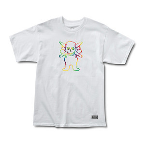 Grizzly x Fourstar Collab T-shirt — White
