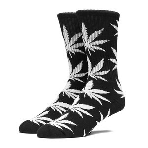 HUF Plantlife Crew Sock - Black
