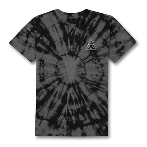 HUF Washed Triple Triangle T-Shirt - Black