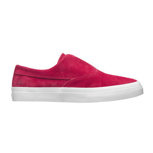 HUF Dylan Slip-On Skate Shoe - Deep Red