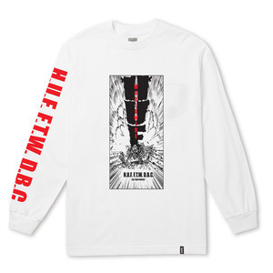 HUF Kaboom Long Sleeve T-Shirt - White