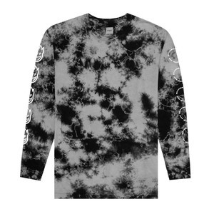 Spitfire x HUF Burn Faster Long Sleeve T-Shirt - Black