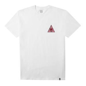 Spitfire x HUF Triple Triangle T-Shirt - White