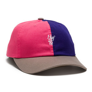 HUF Country Club Curve Visor 6-Panel Hat - Purple