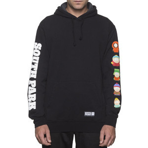 HUF x South Park Pullover Hoodie - Black
