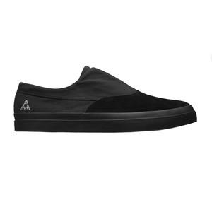HUF Dylan Slip-On Skate Shoe - Black/Black