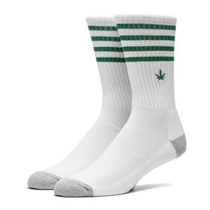 HUF Traction 420 Crew Sock - White