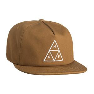 HUF Triple Triangle Snapback Hat - Caramel