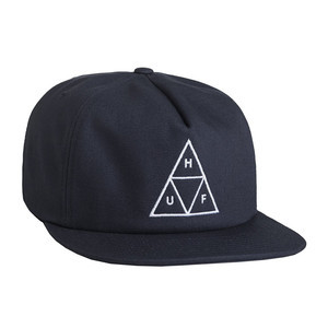 HUF Triple Triangle Snapback - Navy