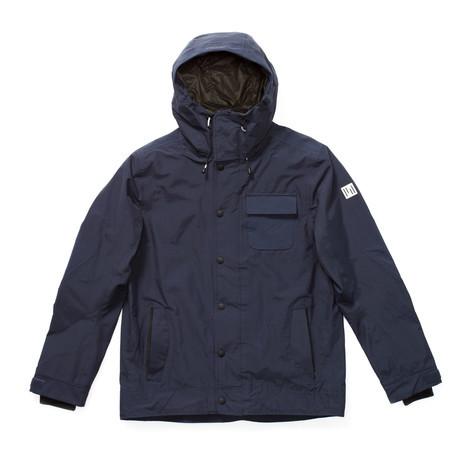 Holden Hooded Deck Snowboard Jacket 2019 - Navy