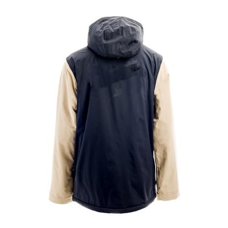Holden Team Camp Snowboard Jacket 2018 - Black / Oat