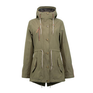 Holden Fishtail Women's Snowboard Jacket 2018 - Olive