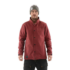 IFOUND Murduck Snowboard Jacket - Burgundy