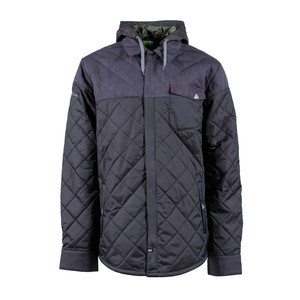 INI Dib Shirt Snowboard Jacket - Black